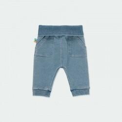 pantalón denim elástico de bebe boboli