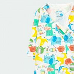 pelele pijama de bebé de colores boboli con obertura delantera
