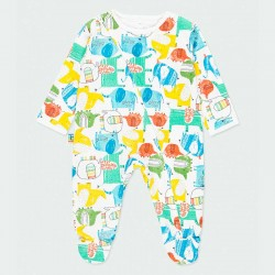 pelele pijama de bebé de colores boboli