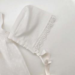 capota vestido bebe de lino juliana
