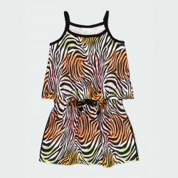 vestido niña primavera verano  estampado print colores