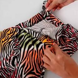obertura short niña estampado colores de boboli