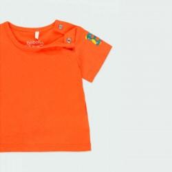 obertura fácil camiseta bebe niño naranja