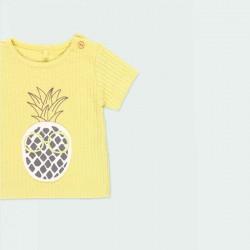 estampado piñas camiseta bebe algodón orgánico