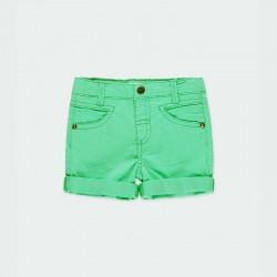 bermuda denim verde niño boboli