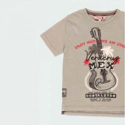 detalle camiseta niño boboli estampado mexicano