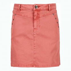 falda niña garcia jeans denim tierra