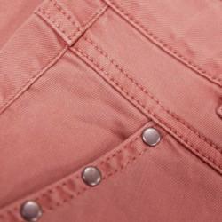 detalle falda niña garcia jeans denim tierra