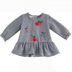 vestido punto bebe ido de cerezas
