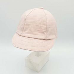 gorra punto bebe rosa de monnuage