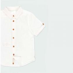 detalle camisa lino niño boboli