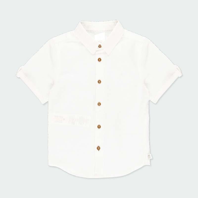 camisa lino niño boboli