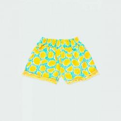 short punto niña limones por detrás