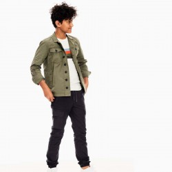 look niño garcia jeans con camiseta rayas