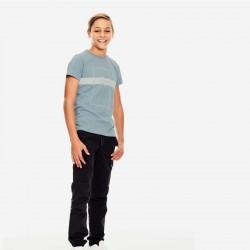 look niño de garcia jeans con camiseta azul acero