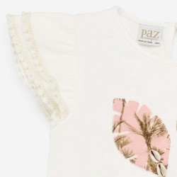 estampado safari camiseta niña paz rodriguez