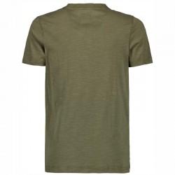 camiseta manga corta niño verde betlee por detrás