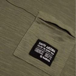 detalle niño con camiseta garcia jeans verde betlee