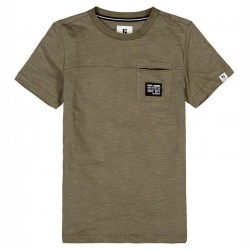 camiseta manga corta niño verde betlee garcia jeans