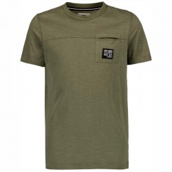 camiseta manga corta niño verde betlee