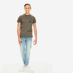 look niño con camiseta garcia jeans verde betlee