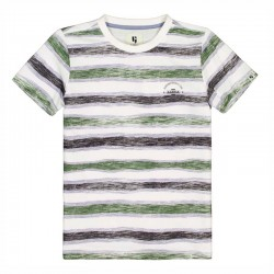 camiseta niño corta rayas de garcia jeans