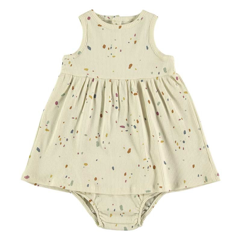 vestido bebe vainilla de baby clic