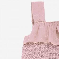 detalle ranita bebe de verano rosa de paz rodriguez