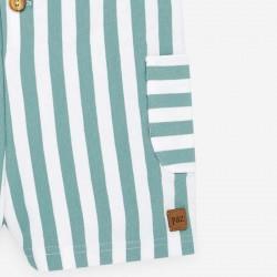 detalle bolsillo peto bebe verano verde bruma de paz rodriguez