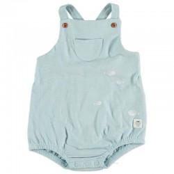 ranita bebé azul claro y peces de cotton fish