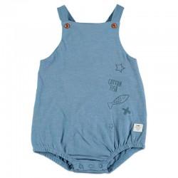 ranita bebe azul jeans de cotton fish