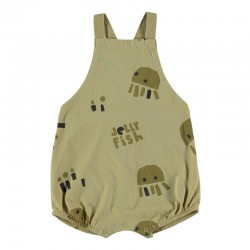 pelele desmangado bebe baby clic estampado medusas