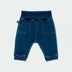 pantalón denim bebe azul de boboli