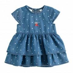 vestido denim bebe de ido