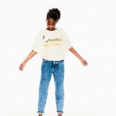 look camiseta poncho niña de garcia jeans