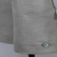 pantalon de vestir niño lino arena