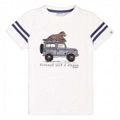 camiseta manga corta niño safari