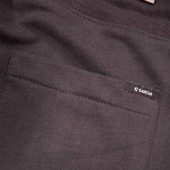 detalle bermuda garcia jeans niño punto gris