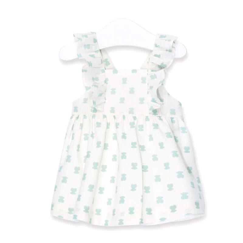 vestido tirantes bebe osos verdes