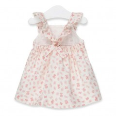 vestido tirantes niña de tous osos rosa por la espalda