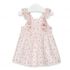 vestido tirantes niña de tous osos rosa
