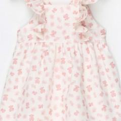 detalle vestido tirantes niña de tous osos rosa