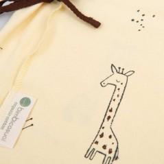 estampado conjunto nacimiento bebe vainilla y crudo jirafa de bimbidreams