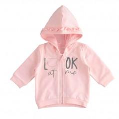 sudadera chandal bebe niña rosa