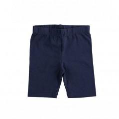 leggins cortos de niña ido azul marino