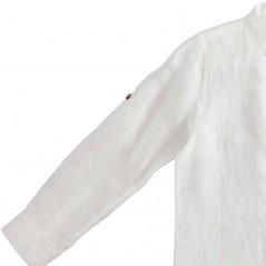 detalle manga camisa lino niño manga larga de ido