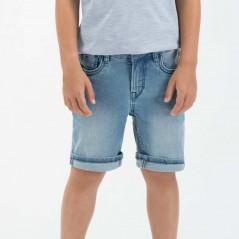 pantalon vaquero corto de niño garcia jeans azul