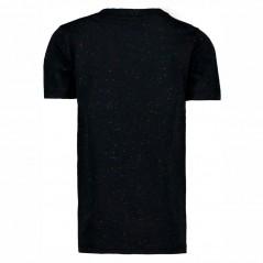 camiseta negra niño de garcia jeans camaleon  manga corta por detras