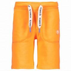 bermuda niño garcia jeans naranja