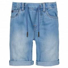 pantalon corto denim claro de garcia jeans
